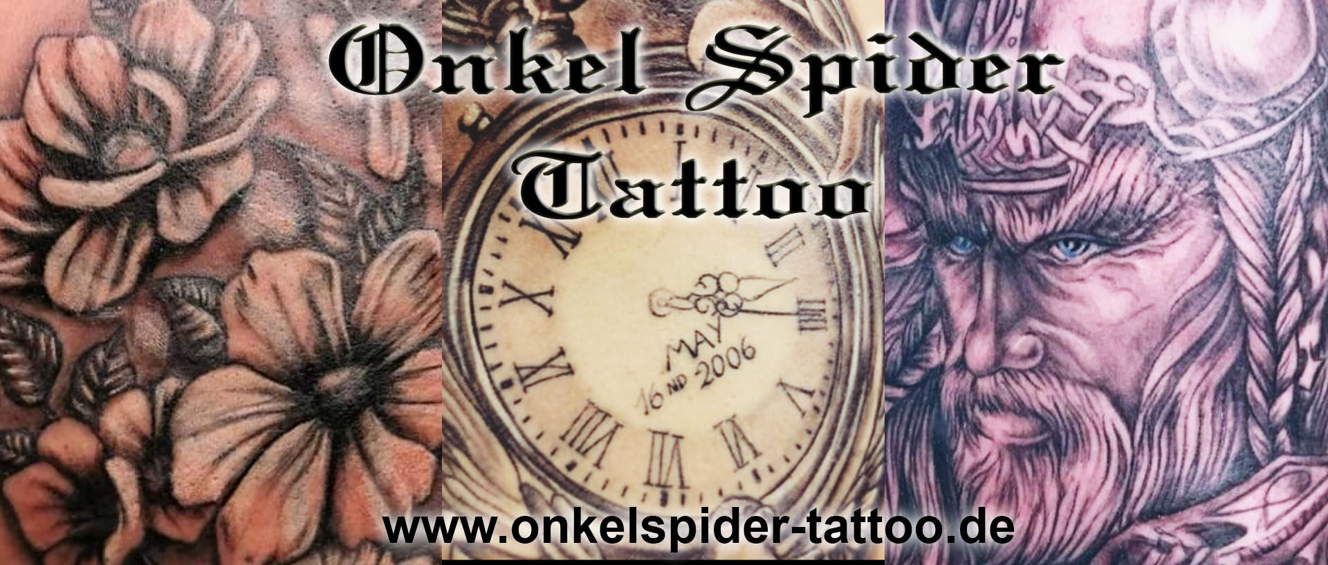Onkel Spider Tattoo